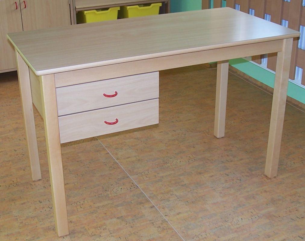 Stôl pre učitele, 2 zásuvky na levé straně