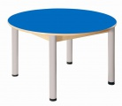 Stôl kruh průměr 100 cm / výška 52 - 70 cm