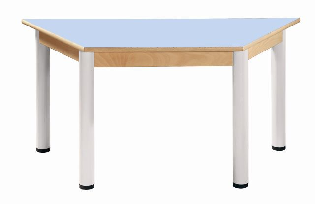 Stôl umakart trapézový 120 x 60 cm / výška 52 - 70 cm