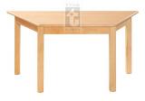 Stůl trapézový 120 x 60 cm, voliteľná farba