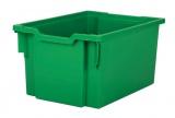 Plastová zásuvka EXTRA DEEP - zelená