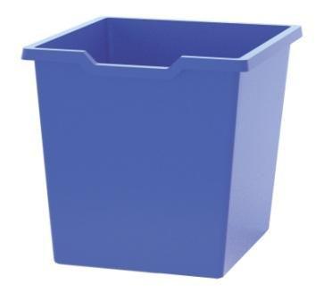 Plastová zásuvka N3 JUMBO - modrá Gratnells