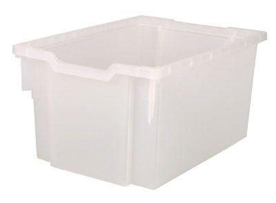 Plastová zásuvka EXTRA DEEP - čirá Gratnells