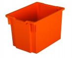 Plastová zásuvka JUMBO - oranžová
