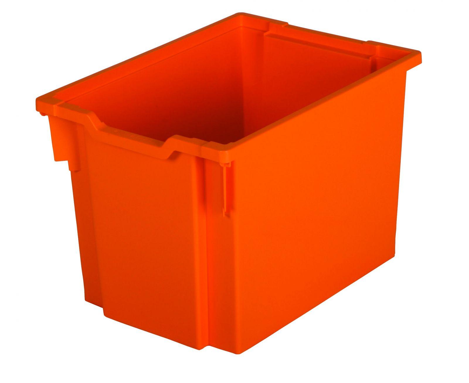 Zásuvka plast JUMBO - oranžová Gratnells
